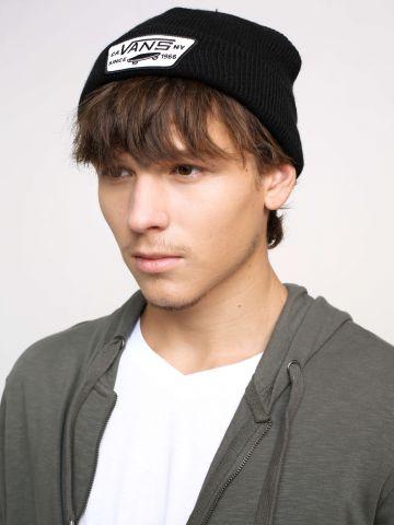 כובע גרב עם פאץ'