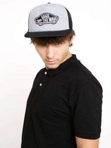 כובע מצחייה קלאסי עם לוגו