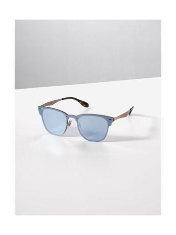 משקפי שמש עם עדשות מראה שטוחות
