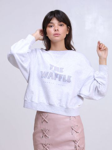 סוויטשירט The Waffle