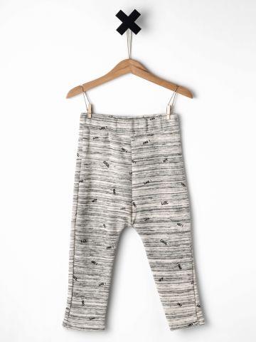 מכנסי פוטר עם הדפס