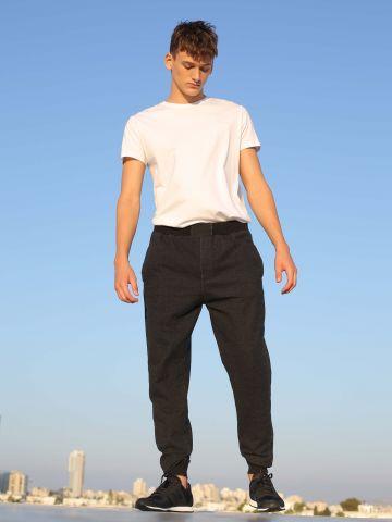 מכנסי פוטר במראה דנים
