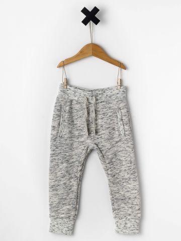 מכנסי פוטר עם כיסים קדמיים