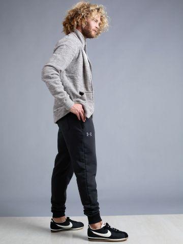 מכנסי פוטר עם כיסים עם רוכסנים