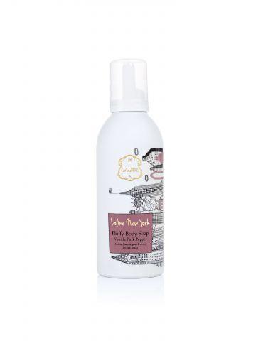 סבון קצפת סדרת ניו יורק״ Vanilla Pink Pepper״