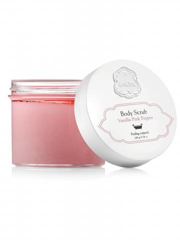 פילינג גוף (240 מ״ל) מסדרת ״ניו יורק״ Vanilla Pink Pepper