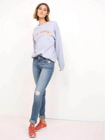 מכנסי ג'ינס מותן גבוהה 721