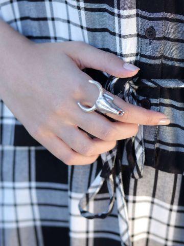 טבעת ראש שור