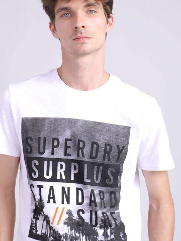 חולצת טי שירט הדפס SUPERDRY