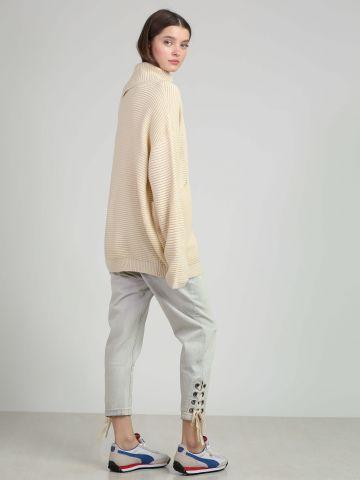 מכנסי ג'ינס עם קשירות שרוכים Eagles