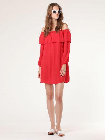שמלת מיני אוף שולדרס
