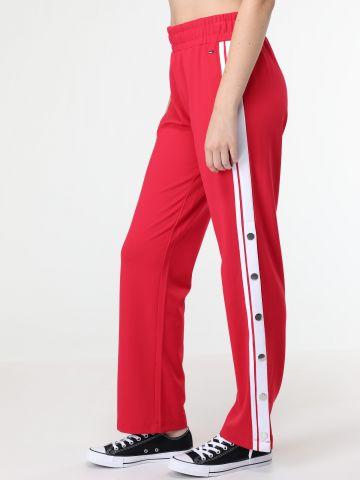 מכנסי תיק תקים עם לוגו המותג