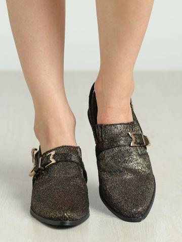 נעלי אוקספורד לורקס עם אבזם