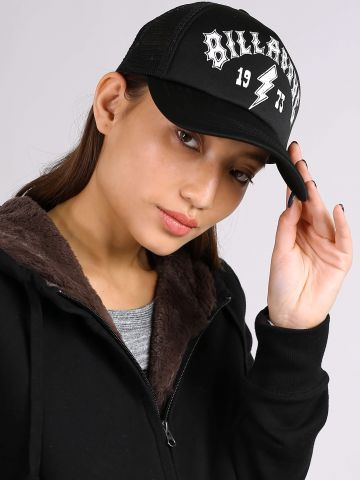 כובע מצחייה עם הדפס