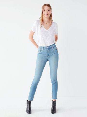 סקיני ג'ינס מותן גבוהה BDG