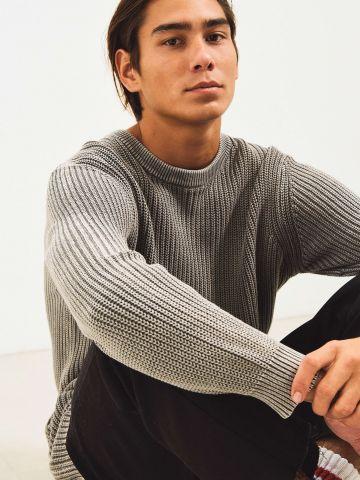 סוודר צמות UO