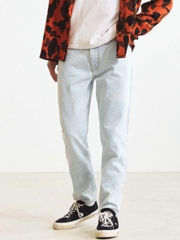 מכנסי ג'ינס בגזרה ישרה BDG