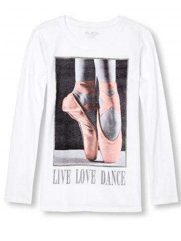 טי שירט שרוולים ארוכים Love Dance