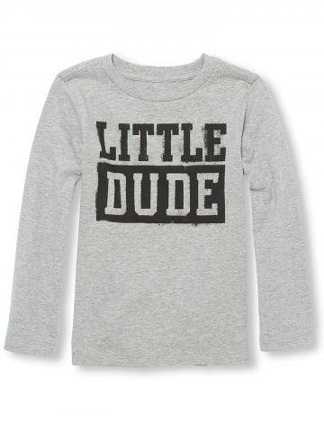 טי שירט שרוולים ארוכים Little Dude
