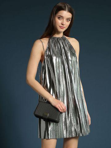 שמלת פליסה קולר