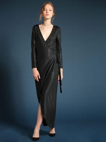 שמלת מקסי מעטפת