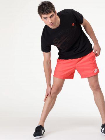 מכנסי ניילון קצרים לוגו