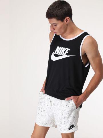 מכנסי בגד ים בהדפס נקודות