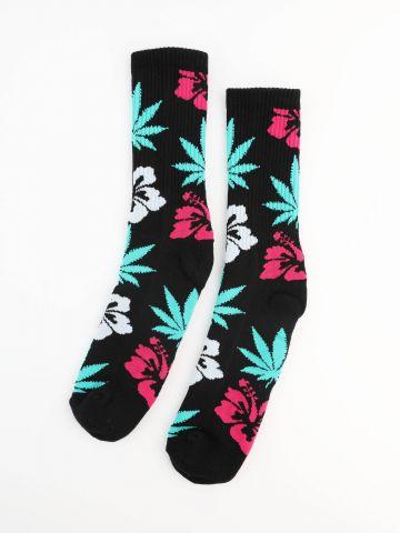 גרביים גבוהים Flowers / גברים