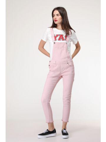 אוברול ג'ינס ורוד