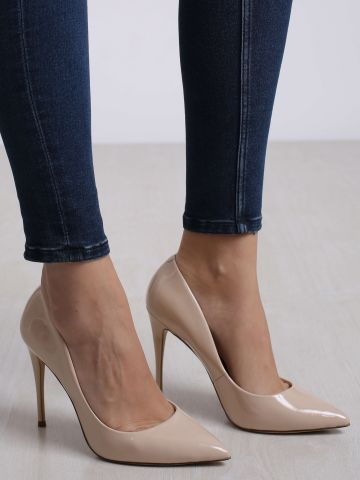 נעלי עקב סטילטו פודרה