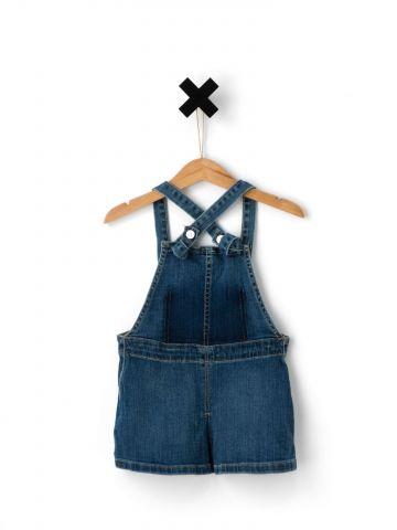 שמלת אוברול ג'ינס