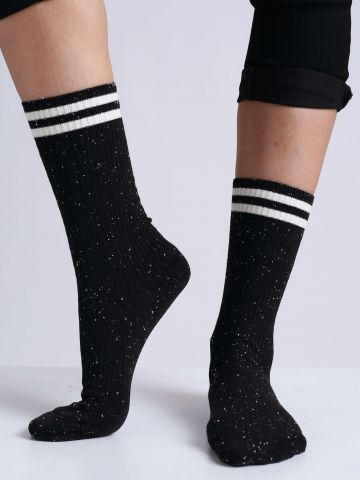 גרביים עם פסים