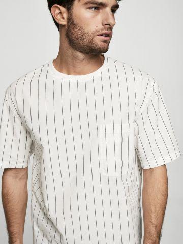 חולצת טישרט פסים
