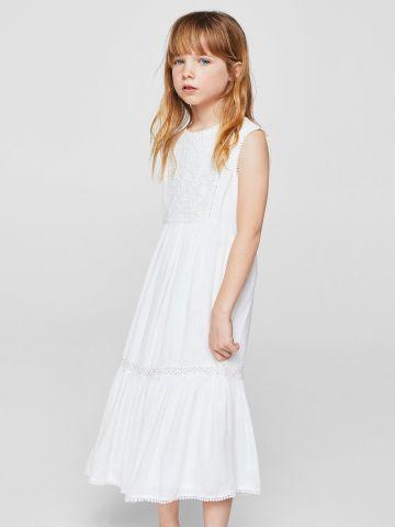 שמלה רקומה