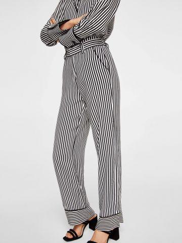 מכנסי פסים רחבים