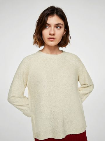 סוודר בגזרה רחבה