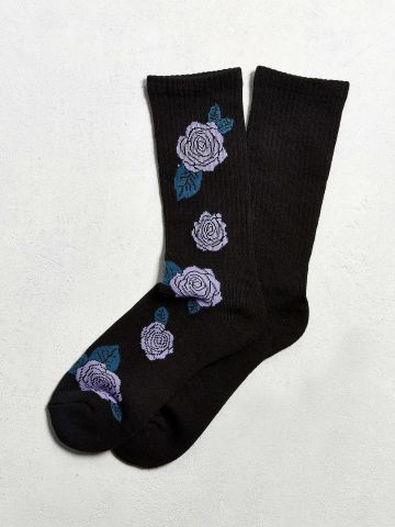 גרביים עם הדפס ורדים / גברים