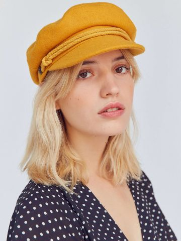 כובע בארט בשילוב צמר Brixton