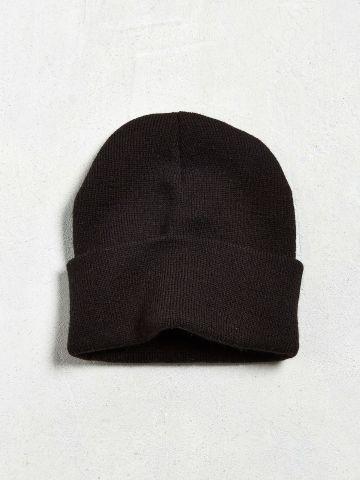 כובע גרב סרוג UO