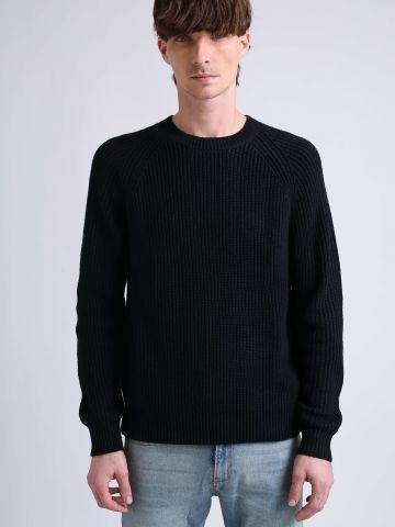 סוודר צמות