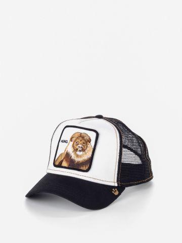 כובע מצחיה עם פאץ' אריה