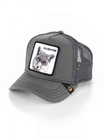 כובע מצחייה עם פאץ' שועל