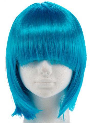 פאה כחולה Space Girl / תחפושות לפורים