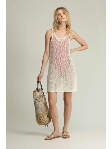 שמלת קרושה ללא שרוולים