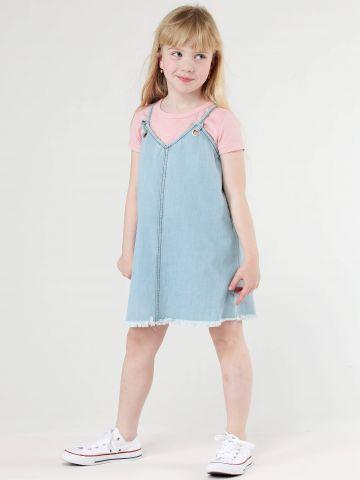 שמלת סרפן ג'ינס