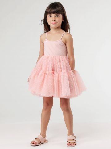 שמלת טול שכבות
