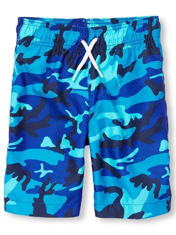מכנסי בגדי ים קמופלאז'