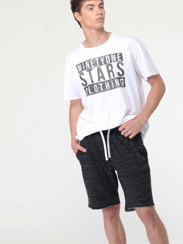 מכנסי פוטר ווש קצרים