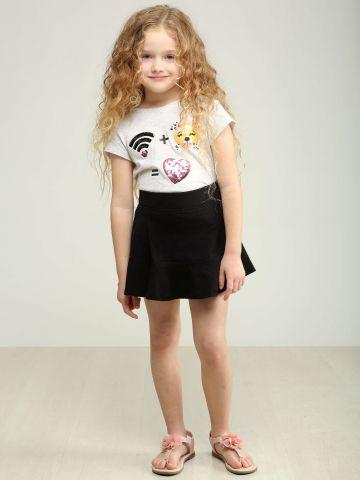 חצאית מיני פפלום