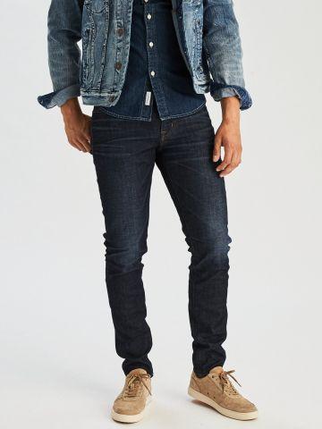 ג'ינס סקיני בשטיפה כהה Extreme Flex Skinny Jean